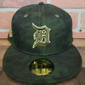 New Era 59FIFTY MLB Armed Forces Detroit Tigers